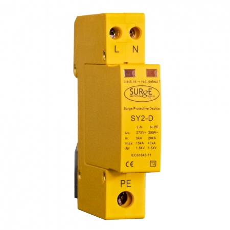Type 2+3 Surge Arresters for TNC-S and TN-S Installations