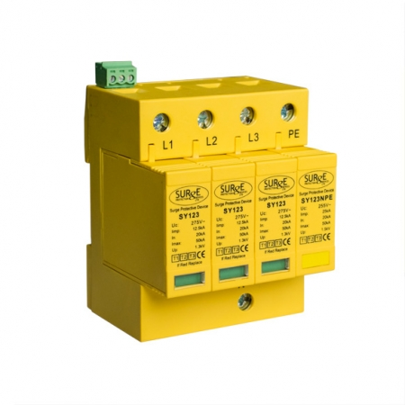 Type 1+2+3 Lightning and Surge Arresters for TT Installations