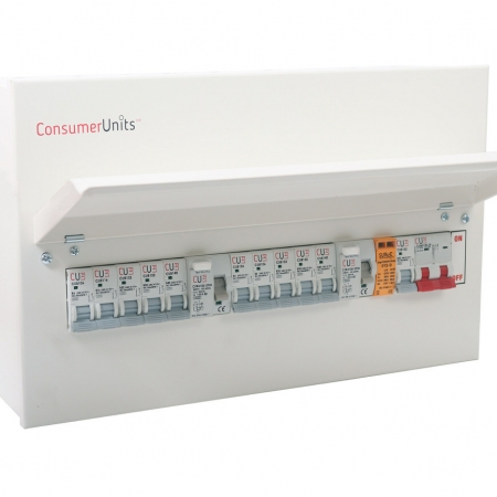 Type 2+3 Surge Arrester Complete in Consumer Unit